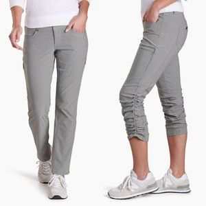 Kuhl Women's Grey Trekr Pants Sz 8